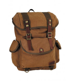 Sac à dos, canvas PT Marron brun - Surplus militaire