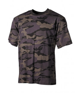 Tee-shirt US Combat Camou - Surplus militaire