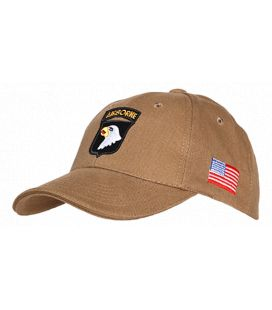 Casquette Army Baseball 101st Airborne Eagle beige