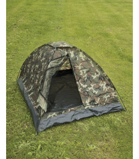 Tente militaire Igloo camouflage Woodland US
