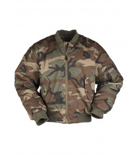 Bombers homme Militaire MA1® T/C Woodland
