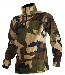 Sweat polaire enfant Somlys camouflage CE TREELAND Chasse
