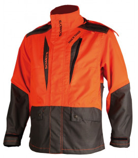 Veste de traque Somlys orange M.I.T