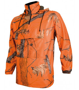 Sweat polaire Somlys camouflage orange