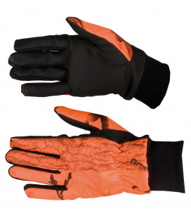 814 - Gants Softshell camouflage orange - Surplus militaire