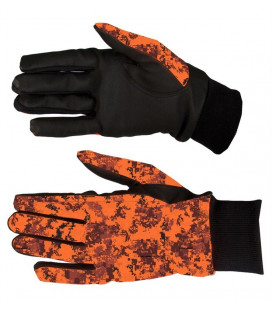 819 - Gants camouflage pixels orange - Surplus militaire