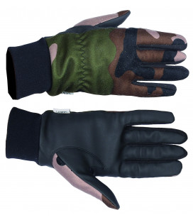 T1812 - Gants softshell camouflage CE TREELAND - Surplus militaire
