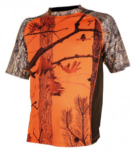 Tee shirt Somlys camo orange enfant