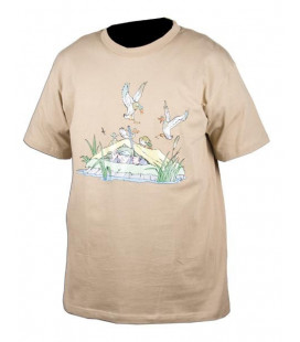 Tee-Shirt Somlys Sable Canards Chasseur