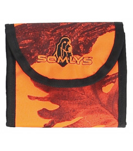 Pochette Somlys camou orange
