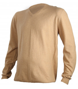 Pull chasse laine Somlys chaud BEIGE