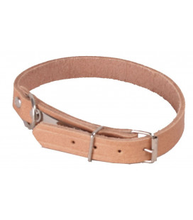 14940 - Collier chien chasse cuir Somlys 40 cm