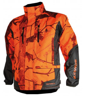 Veste traque Somlys camouflage orange