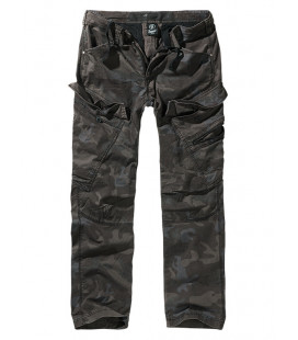 Pantalon Treillis Adven Slim Fit camouflage Darkcamo, Brandit