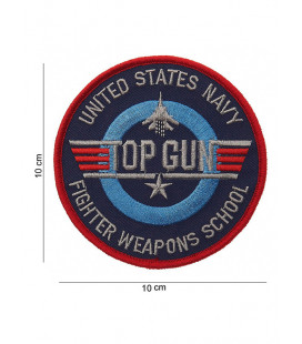 Patch Ecusson à coudre Top Gun Fighter Weapons