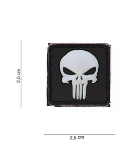 Patch Ecusson PVC PUNISHER Noir