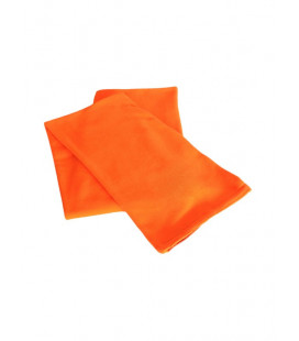 Echarpe polaire orange fluo
