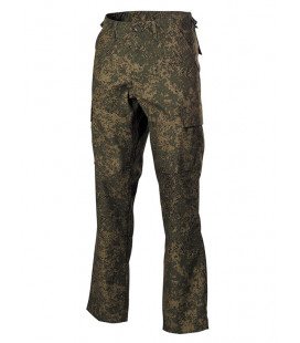 Pantalon Treillis US BDU Type tend camouflage Digital Russe