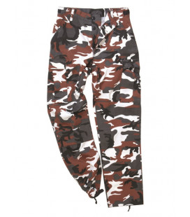 Pantalon US BDU type Rangers Red Camo - Surplus militaire