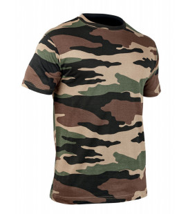 T-shirt TOE Strong Airflow militaire Cam CE