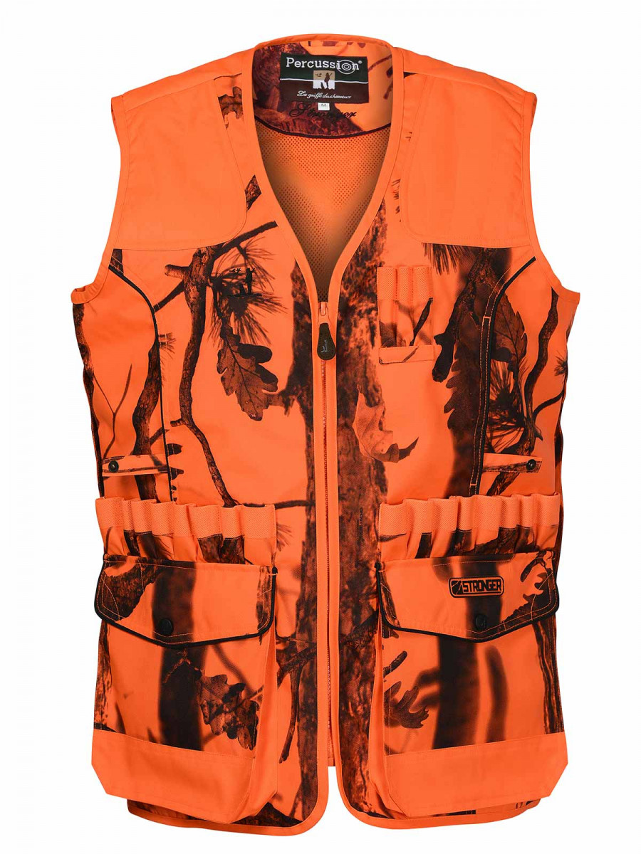 Gilet Chasse Percussion Stronger Ghostcamo