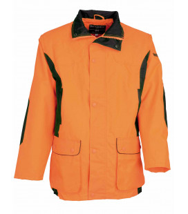 Veste chasse Percussion orange Securite Renfort