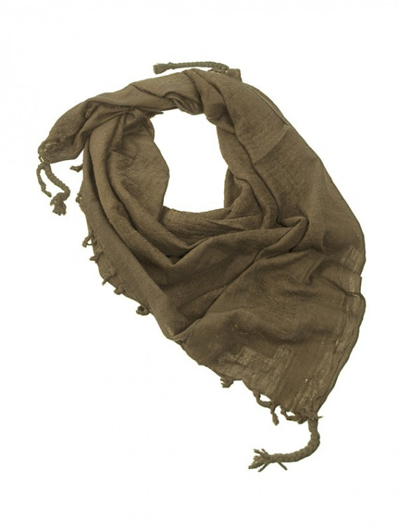 Shemagh Vert Olive 110 x 110 cm - Surplus militaire