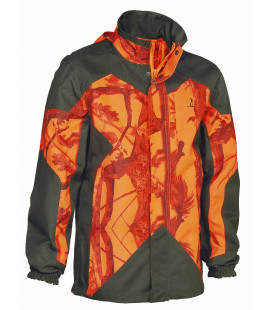 Veste Chasse Percussion Predator R2 Ghostcamo Blaze/Black