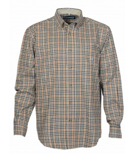Chemise Chasse Percussion Beaugency Vert / Ocre