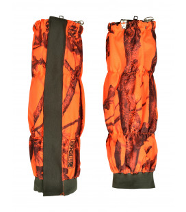 Guetres Chasse Stronger Ghostcamo Blaze/Black - Surplus militaire