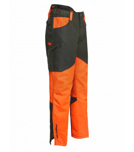 Pantalon Fuseau Chasse Percussion Predator R2 Kaki/Orange