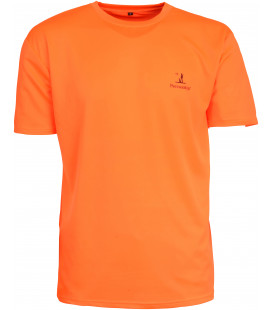 T-Shirt Chasse Percussion Fluo