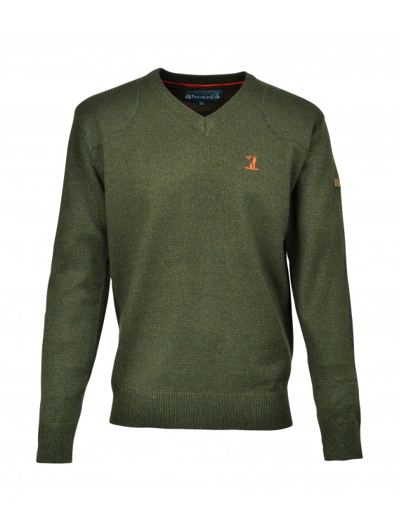 Pull Chasse Col V - Surplus militaire