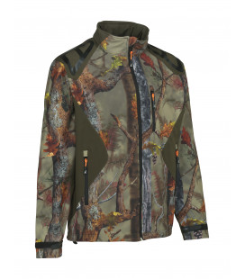 Blouson Chasse Percussion Softshell Ghostcamo Forest