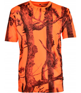 T-Shirt Chasse Fluo Ghostcamo Percussion