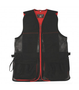 Gilet Ball Trap Evo Noir / Rouge
