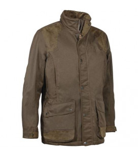 Veste Chasse Percussion Sologne Skintane Optimum Marron