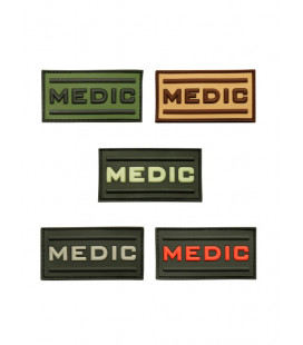 Patch 3D gomme souple Medic 70 x 36 mm