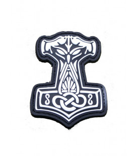 Patch 3D gomme souple Thors Hammer