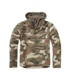 Blouson coupe vent Brandit Windbreaker Light Woodland