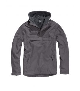 Blouson coupe vent Brandit Windbreaker Anthracite