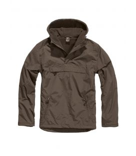 Blouson coupe vent Brandit Windbreaker Marron