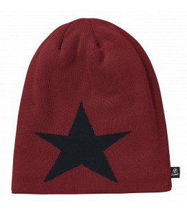 Bonnet Beanie STAR Brandit Bordeaux