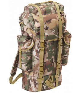 Sac à dos Brandit nylon 65L Tactical camo - Surplus militaire