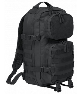 Sac à dos militaire Brandit 25L US Cooper Patch medium Noir