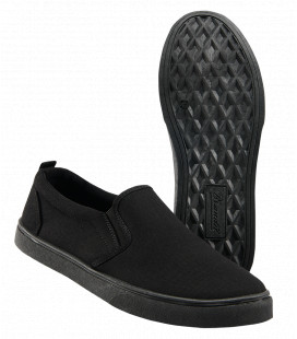 Tennis Slip on Southampton Brandit Noir - Surplus militaire