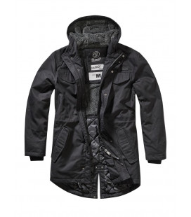 Parka fourrée Marsh Lake Brandit Noir