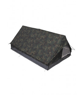 Tente militaire Minipack 2 personnes camouflage Woodland
