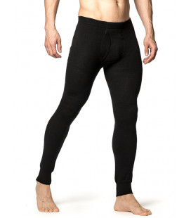 Pantalon Woodpower LONG JOHN 200 Mérinos Noir