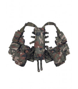 Gilet tactique Tactical camouflage woodland